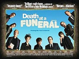 Death at a Funeral (2007 film) - Image: Death at a funeral poster
