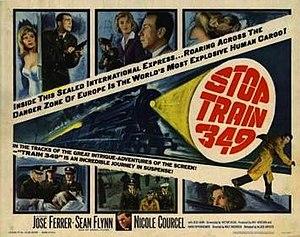 Stop Train 349 - U.S. Film poster
