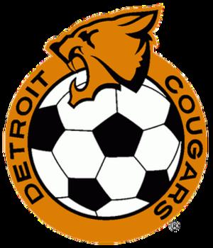 Detroit Cougars (soccer) - Image: Detroit cougars logo