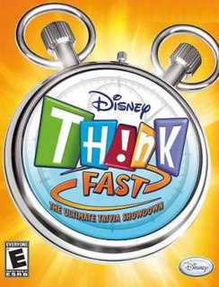 <i>Disney Think Fast</i> video game