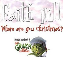 faith hill where are you christmasjpg