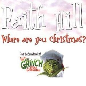 Where Are You, Christmas? - Image: Faith Hill Where Are You Christmas?