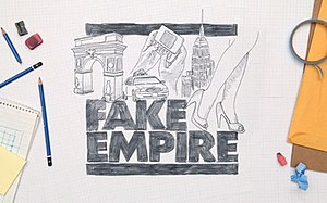 Fake Empire Productions - Image: Fake Empire Gossip Girl logo