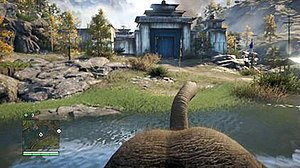 Far Cry 4 - In Far Cry 4, players have the ability to ride on elephants.