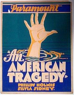 <i>An American Tragedy</i> (film) 1931 film by Josef von Sternberg