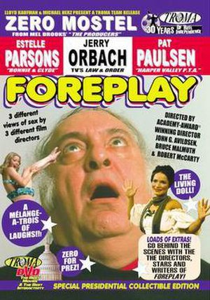 Fore Play - DVD cover for 'Fore Play'