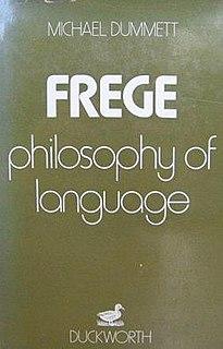 <i>Frege: Philosophy of Language</i> book by Michael Dummett