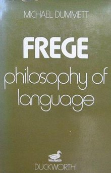 Frege, Philosophy of Language, first edition.jpg