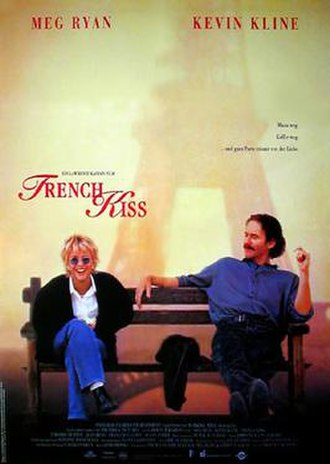 French Kiss (1995 film) - Theatrical release poster