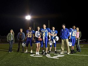 The main cast of Friday Night Lights