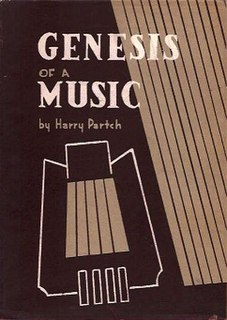 <i>Genesis of a Music</i> book by Harry Partch