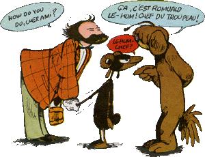 Le Génie des alpages - Image: Genie fmurr panel 1