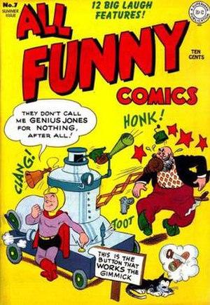 Genius Jones - Image: Geniusjonesdcu 0