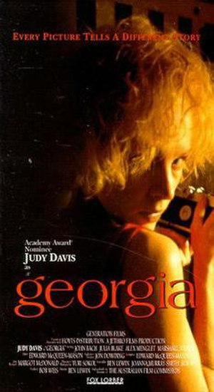 Georgia (1988 film) - Theatrical release poster