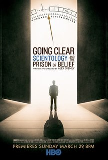 <i>Going Clear</i> (film) 2015 film by Alex Gibney