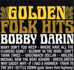 Golden Folk Hits - Image: Golden Folk Hits Bobby Darin