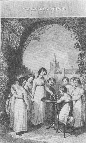 The Governess, or The Little Female Academy - Frontispiece to Mrs Sherwood's 1820 revised edition of The Governess