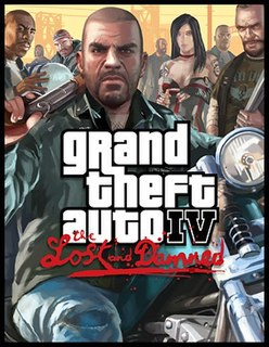 <i>Grand Theft Auto IV: The Lost and Damned</i> first of two episodic expansion packs for Grand Theft Auto IV