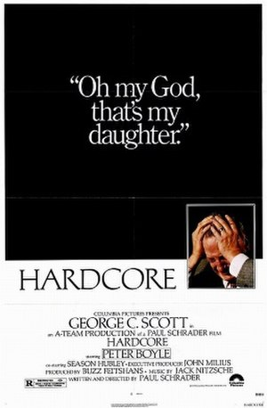Hardcore (1979 film) - Theatrical release poster