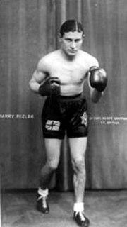 Harry Mizler English boxer