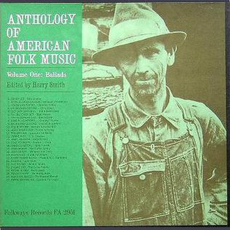 Anthology of American Folk Music - Cover for 1960s reissue Folkways FA 2951