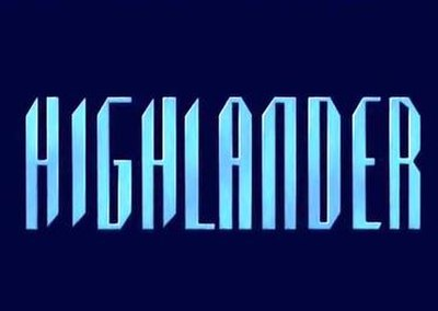 Picture of a TV show: Highlander