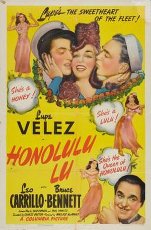 Honolulu Lu - Theatrical release poster