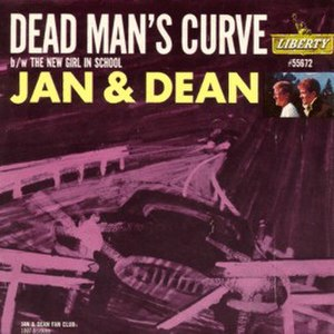 Dead Man's Curve (song) - Image: Jan and Dean Dead Man's Curve