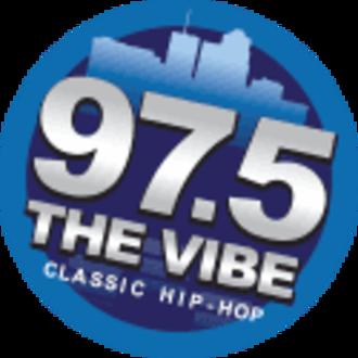 KSZR - Image: KSZR 97.5The Vibe logo