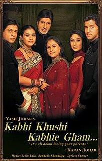 <i>Kabhi Khushi Kabhie Gham...</i> 2001 film directed by Karan Johar