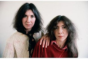 Kate & Anna McGarrigle - Kate (left) and Anna McGarrigle, 1981