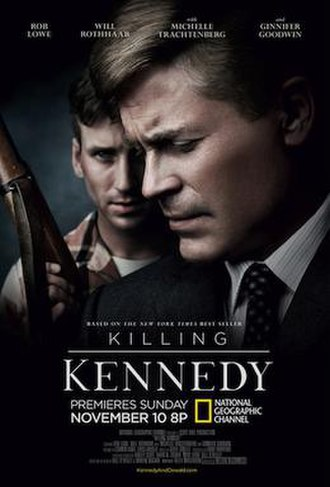 Killing Kennedy (film) - Promotional poster for the US premiere
