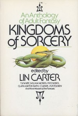 Kingdoms of Sorcery - Dust cover of Kingdoms of Sorcery: An Anthology of Adult Fantasy
