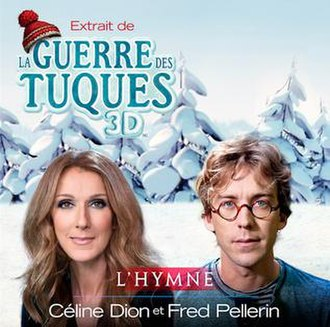 Celine Dion and Fred Pellerin — L'hymne (studio acapella)