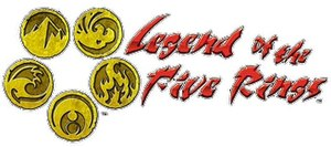 Legend of the Five Rings - Image: Legend of the Five Rings Logo