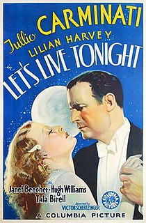 <i>Lets Live Tonight</i> 1935 film