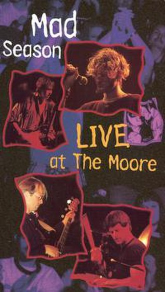 Live at The Moore - Image: Live At The Moore Theatre