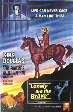 Lonely Are the Brave - Theatrical poster