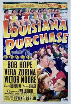 Louisiana Purchase (film) - Theatrical release poster