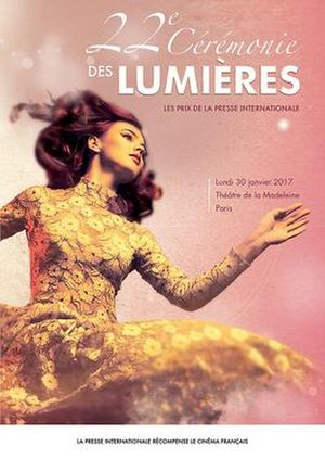 22nd Lumières Awards - Official poster