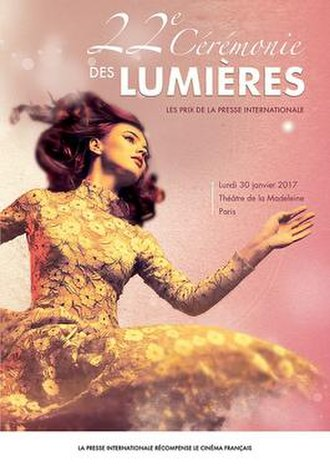22nd Lumières Awards (2017) Watch Online Free