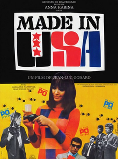 Made in U.S.A. (1966) movie poster
