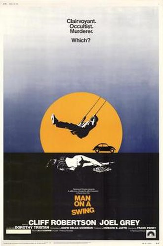 Man on a Swing - Theatrical release poster