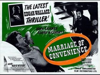 <i>Marriage of Convenience</i> (1960 film)