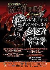 Mayhem Festival 2009 Wikipedia