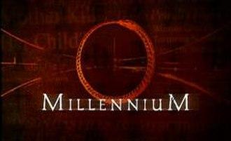 Millennium (TV series) - Image: Millennium logo