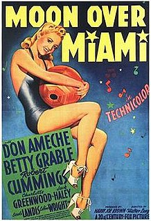 <i>Moon Over Miami</i> (film) 1941 film by Walter Lang