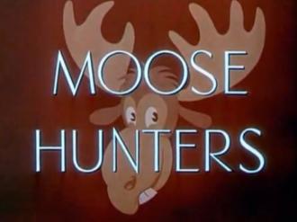 Moose Hunters - title screen