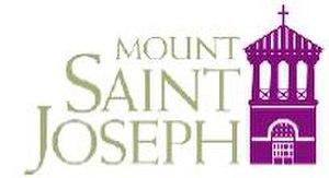 Mount Saint Joseph High School - Image: Mountsaintjosephcoll egelogo