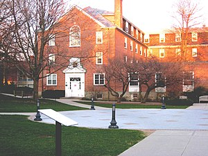 Quincy, Massachusetts - Munro Hall on the Eastern Nazarene College main campus